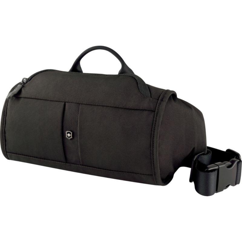 ビクトリノックス メンズ ボディバッグ・ウエストポーチ バッグ Lifestyle Accessories 4.0 Lumbar Pack with RFID Protection Black/Black Logo