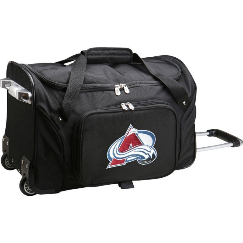 デンコスポーツ メンズ スーツケース バッグ NHL 22 Rolling Duffel Colorado Avalanche