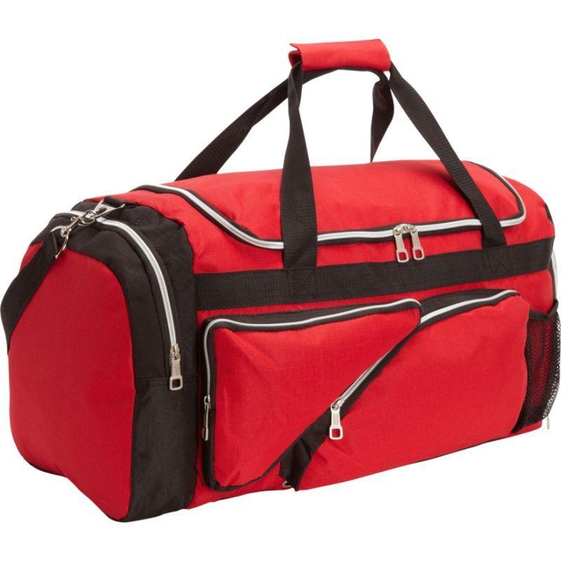 ベリノ メンズ スーツケース バッグ Turbo Sports Duffle Red