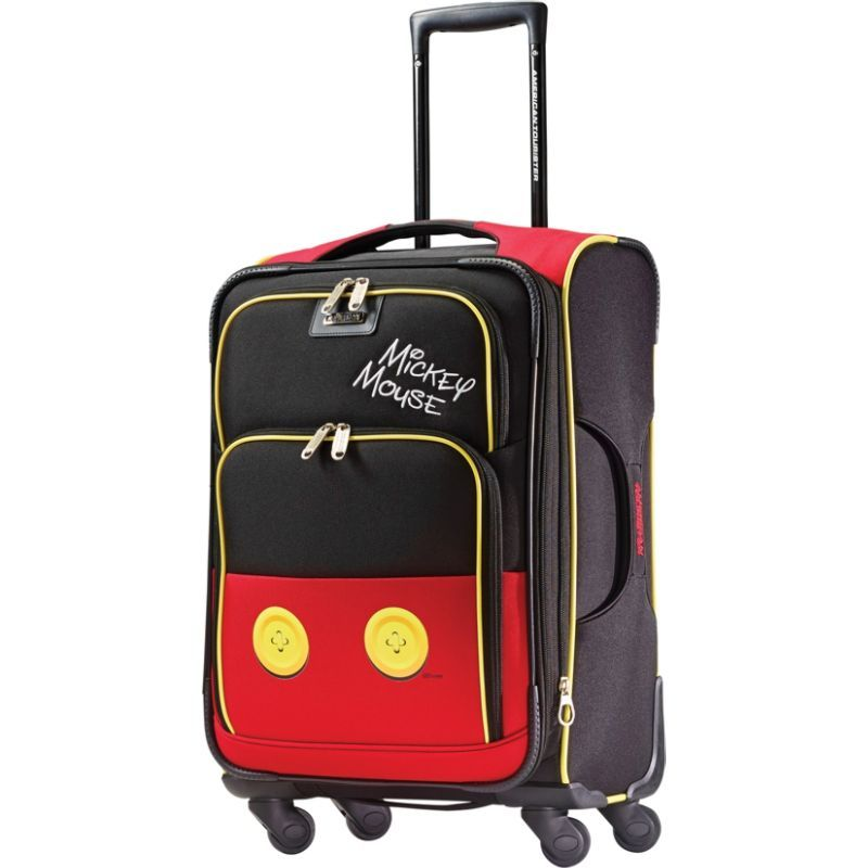 アメリカンツーリスター メンズ スーツケース バッグ Disney Mickey Mouse Softside Spinner 21 Mickey Mouse Pants