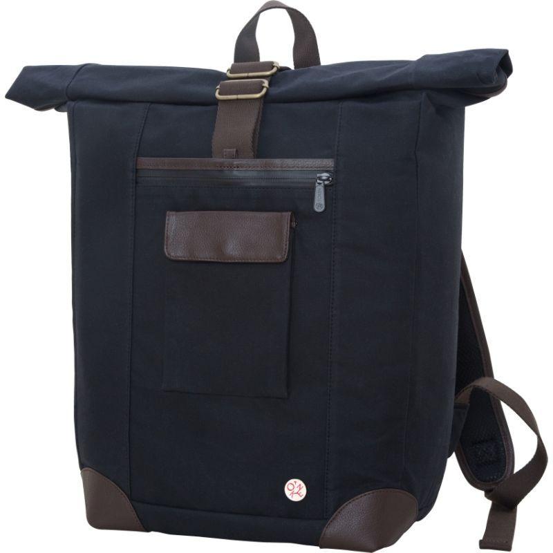 トーケン メンズ スーツケース バッグ Waxed Montrose Backpack Black