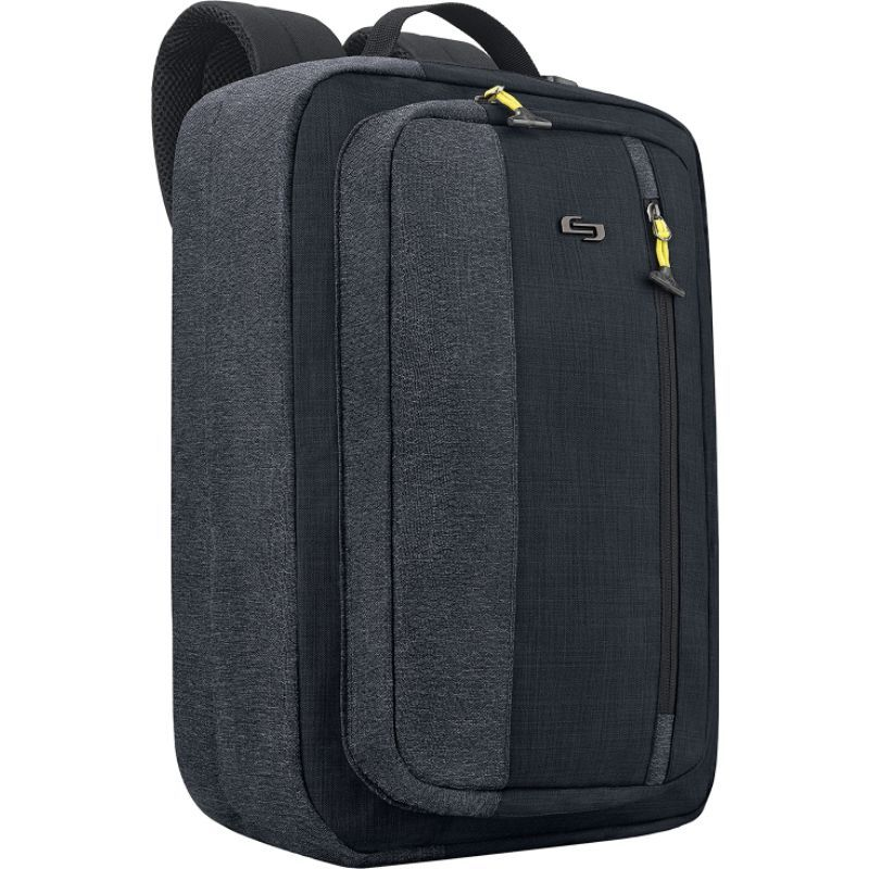 ソロ メンズ スーツケース バッグ Velocity 15.6 Hybrid Backpack Black
