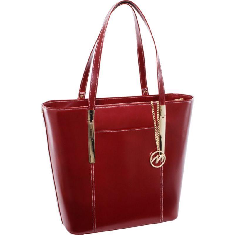 マックレイン メンズ スーツケース バッグ Deva Work Tote Red