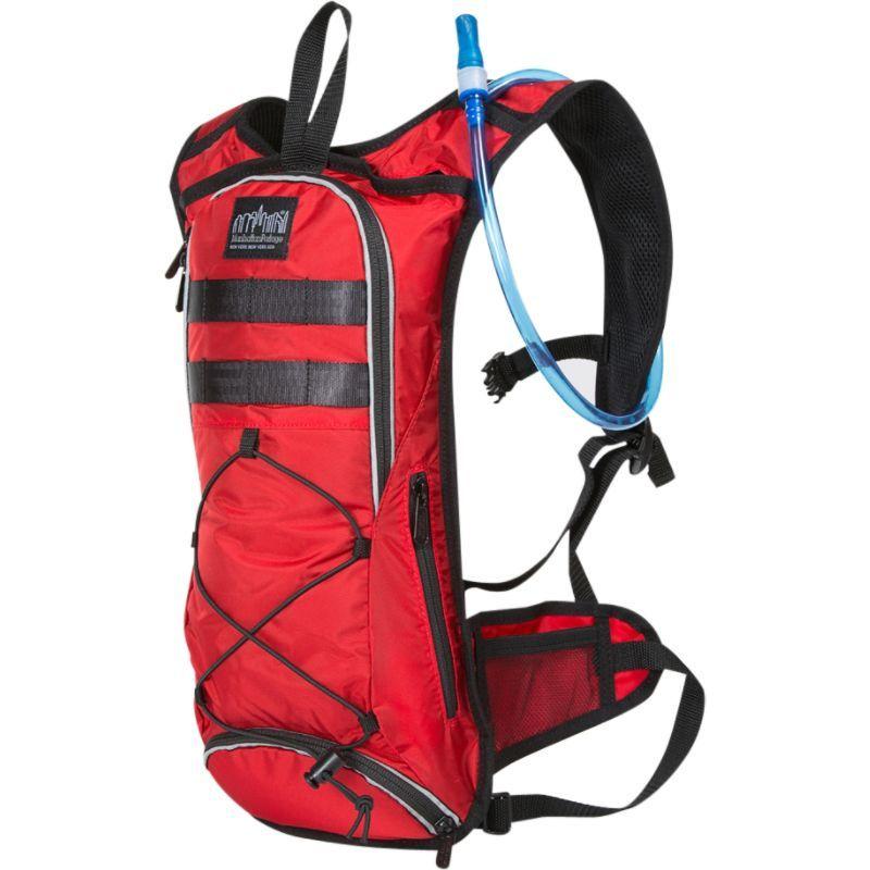 マンハッタンポーテージ メンズ バックパック・リュックサック バッグ Central Park Reservoir Backpack Red