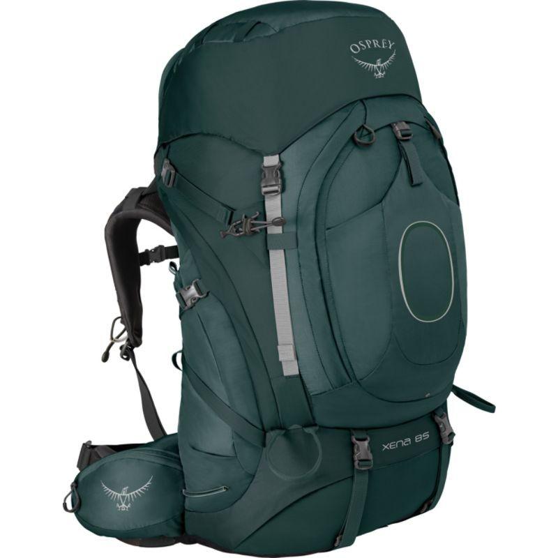 オスプレー メンズ バックパック・リュックサック バッグ Xena 85 Backpack Canopy Green MD