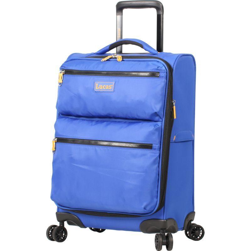 ルーカス メンズ スーツケース バッグ Ultra Light Weight Originals 20 Exp Spinner Blue