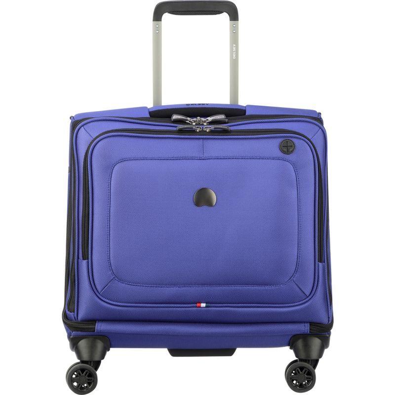 デルシー メンズ スーツケース バッグ Cruise Lite Soft Spinner Trolley Tote Blue