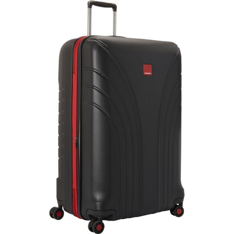 ヘドグレン メンズ スーツケース バッグ Take Off Flight Large 28 Expandable Spinner Black/Red Combo