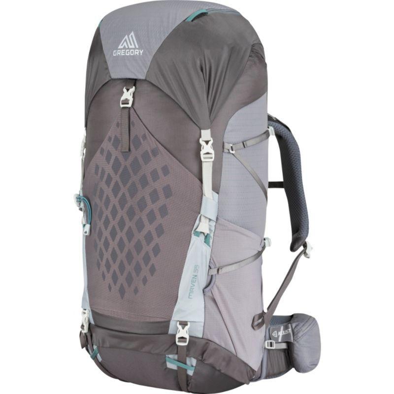 グレゴリー メンズ バックパック・リュックサック バッグ Maven 55 Hiking Backpack - Small/Medium Forest Grey