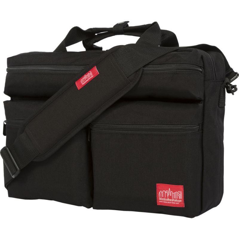 マンハッタンポーテージ メンズ ショルダーバッグ バッグ Brighton Bag Black