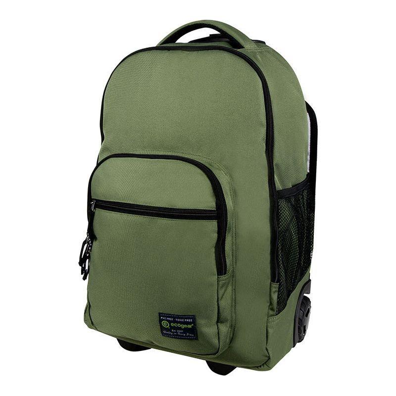 エコギアー メンズ バックパック・リュックサック バッグ Dhole Laptop Rolling Backpack Olive Green