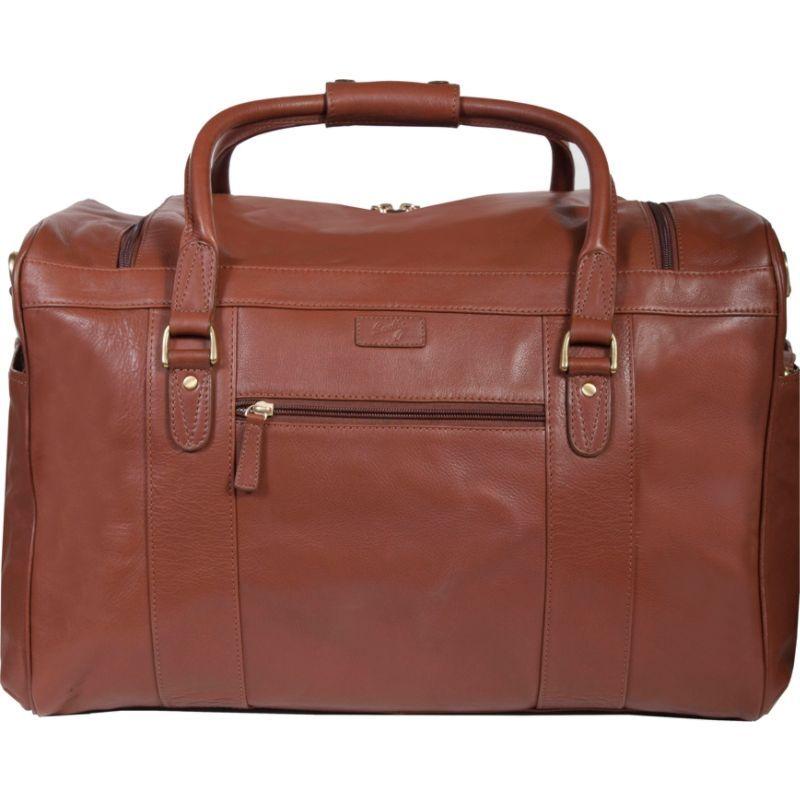 スカーリー メンズ スーツケース バッグ Oversize Duffel Bag Brown