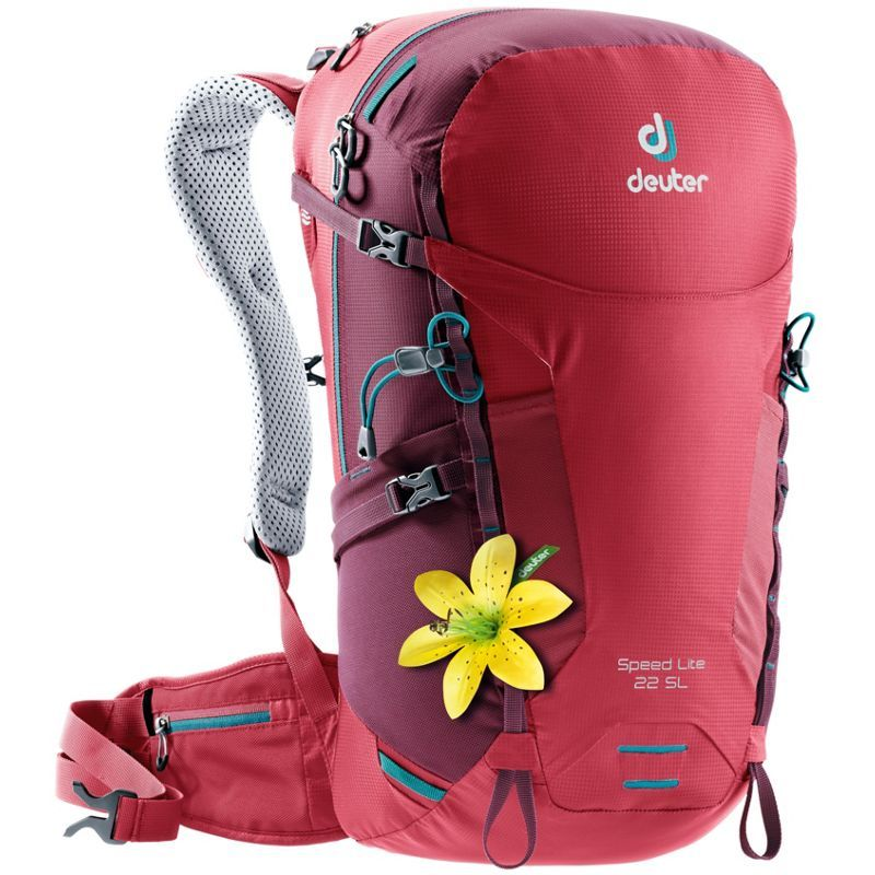 25a1fe0410b5 ドイター レディース バックパック・リュックサック バッグ Womens Speed Lite 22 SL Hiking Pack Cardinal