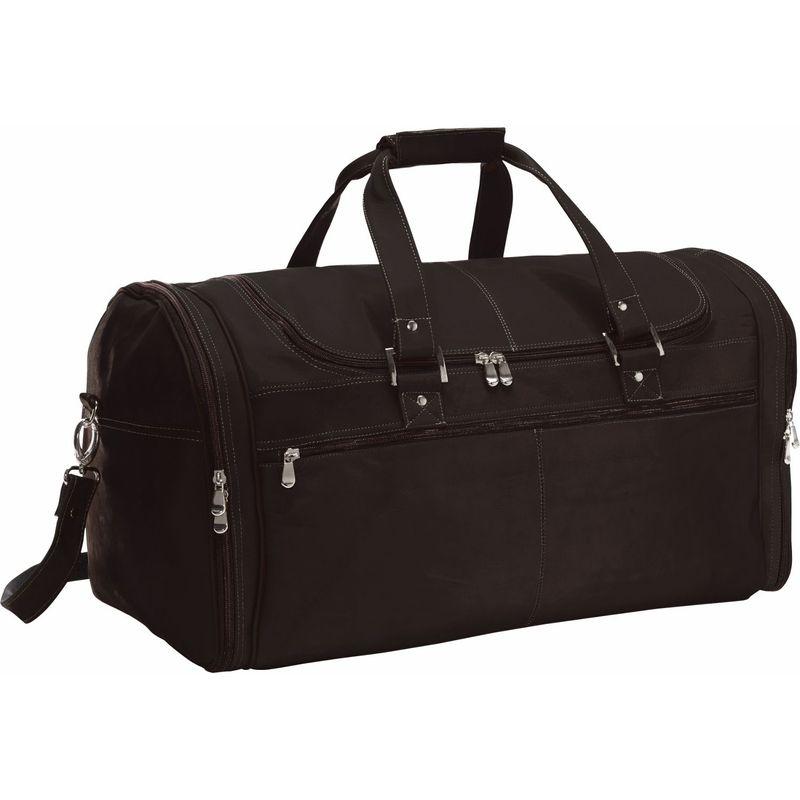 デビッドキング メンズ スーツケース バッグ Deluxe Extra Large Multi Pocket Duffel Cafe
