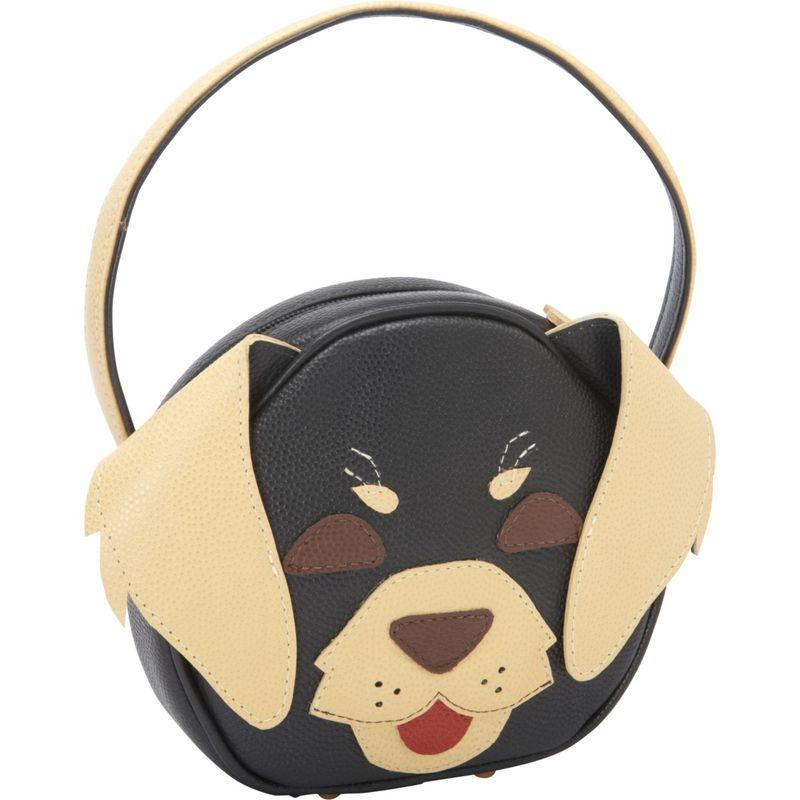 ジェイピーオースアンドシー メンズ ハンドバッグ バッグ Pet Face Day Bag Black/Beige Doggie