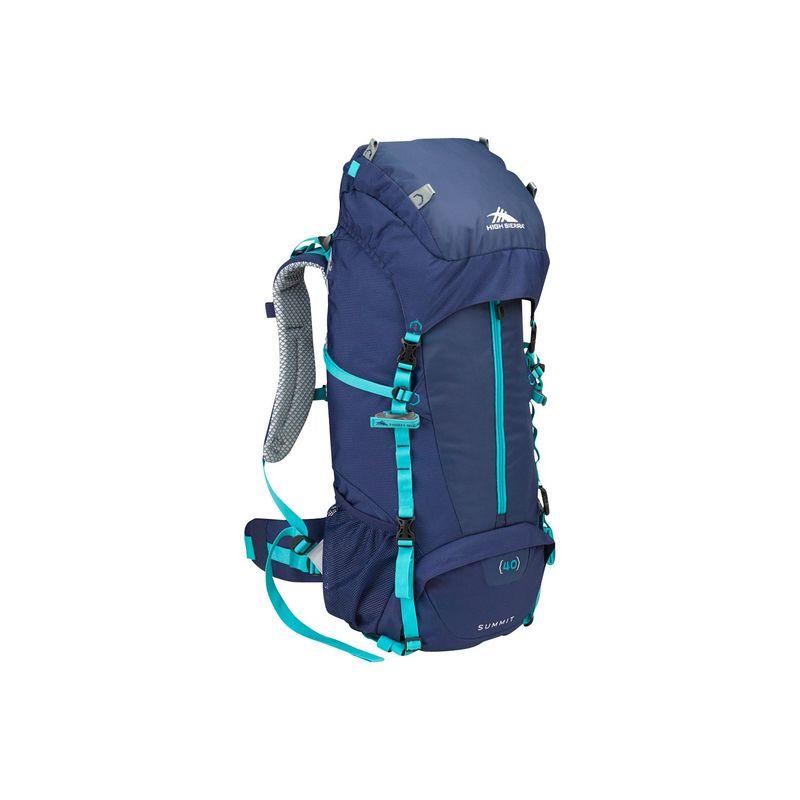 ハイシエラ レディース バックパック・リュックサック バッグ Women's Summit 40 Backpacking Pack True Navy/True Navy/Tropic Teal