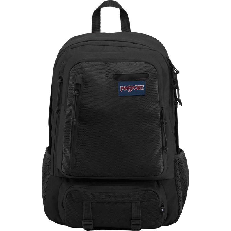 ジャンスポーツ メンズ バックパック・リュックサック バッグ Envoy School Backpack Black Triangle Dobby