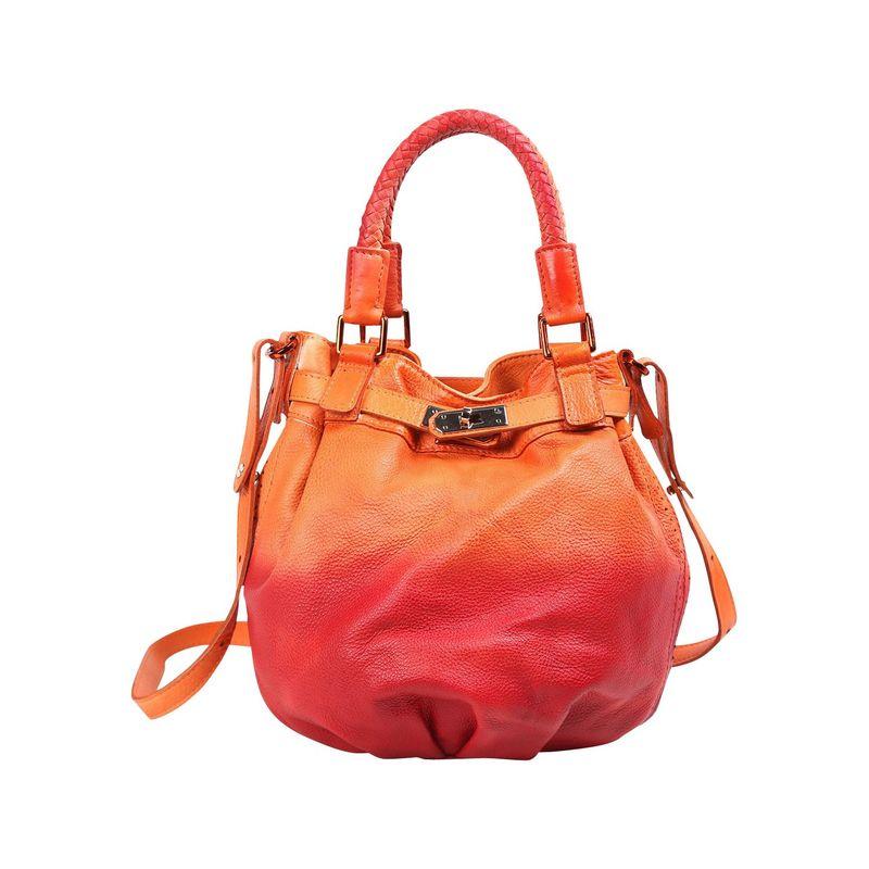 オールドトレンド メンズ ボディバッグ・ウエストポーチ バッグ Pumpkin Bucket Bag Orange