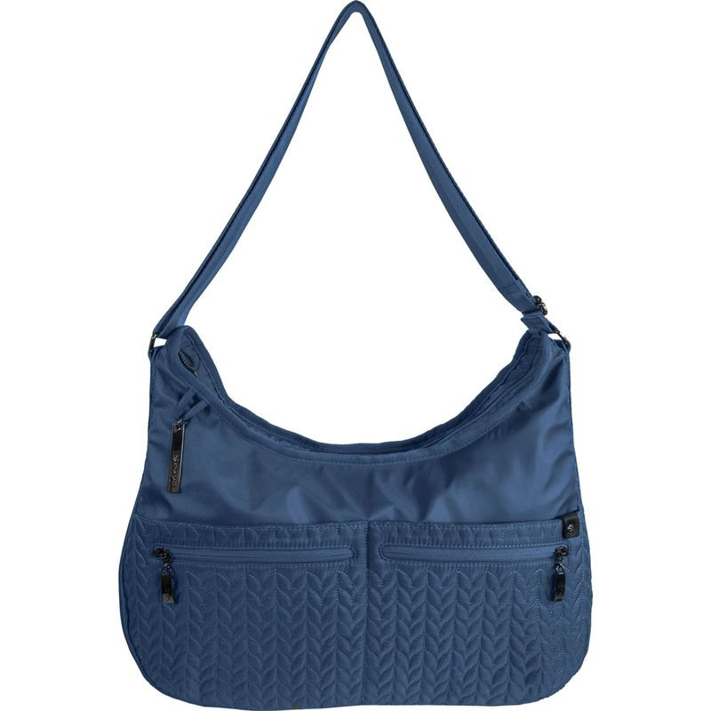 シェルパニ メンズ ボディバッグ・ウエストポーチ バッグ Bree RFID Multi-Pocket Sling Crossbody - Exclusive Colors Navy - Exclusive Color