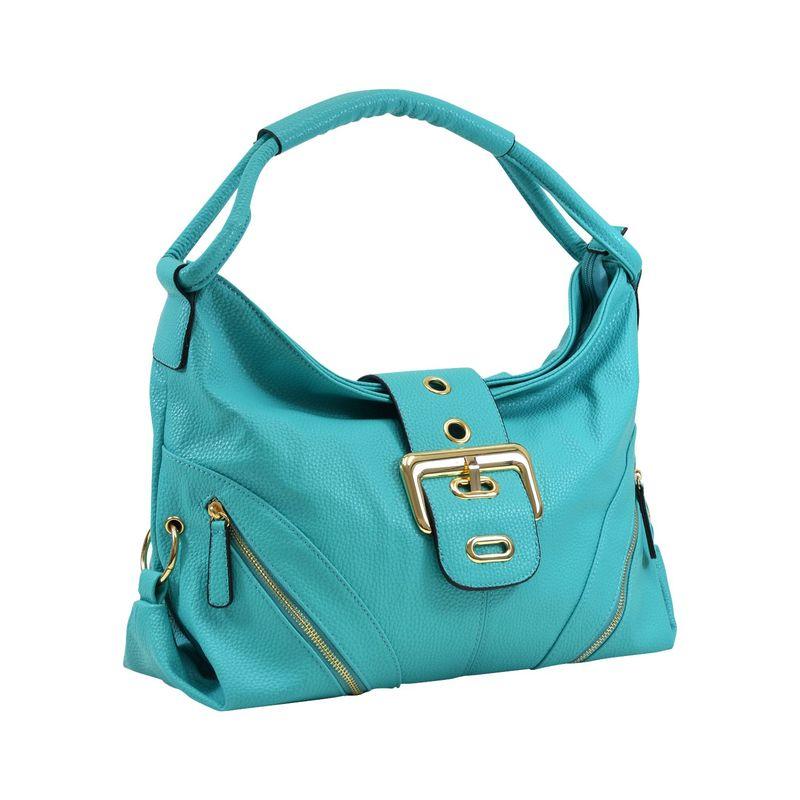 ダセイン メンズ ハンドバッグ バッグ Classic Hobo with Zippered Pockets Turquoise