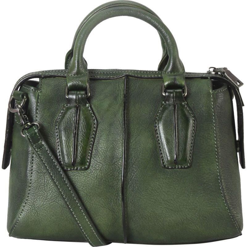 ディオフィ メンズ ハンドバッグ バッグ Archaize Medium Top Handle Shoulder Bag with Removable Strap Green