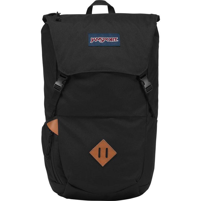 ジャンスポーツ メンズ バックパック・リュックサック バッグ Pike Laptop Backpack Black