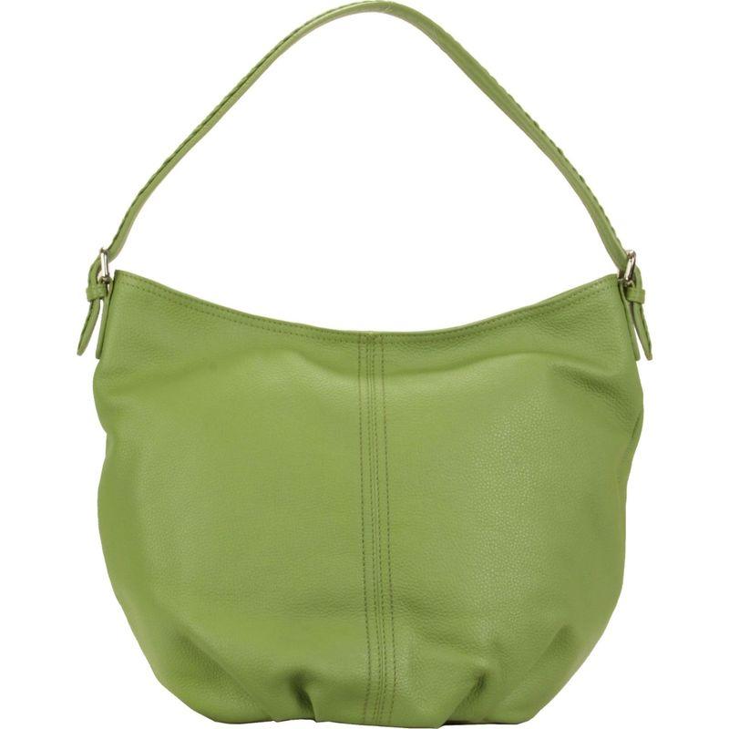 ハダキ メンズ ハンドバッグ バッグ Slouchy Hobo Piquat Green
