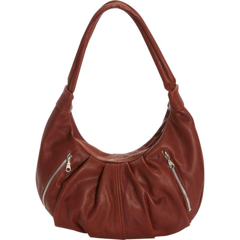 ビクトリアレザー メンズ ショルダーバッグ バッグ Tessa Shoulder Bag Cognac