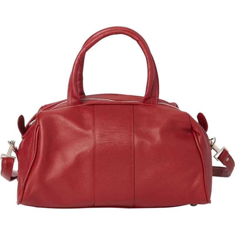 ピエール メンズ ハンドバッグ バッグ Mini Leather Satchel Red