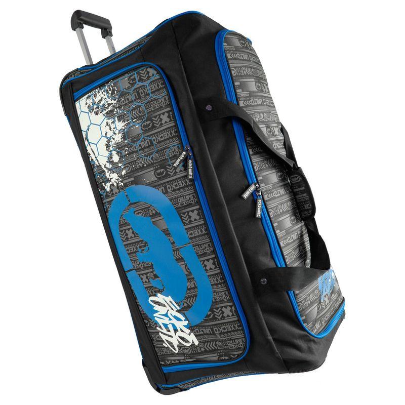 エコー メンズ スーツケース バッグ Tagger Large 32 Rolling Duffel Bag Black/Blue