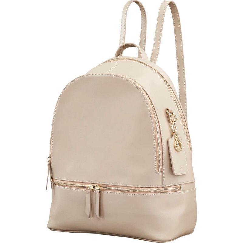 サムソナイト メンズ バックパック・リュックサック バッグ Ladies Leather City Backpack Light Grey