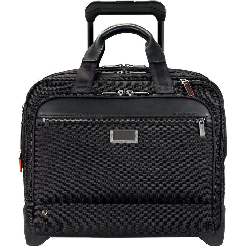 ブリグスアンドライリー メンズ スーツケース バッグ @work Medium 2 Wheel Expandable Brief Black