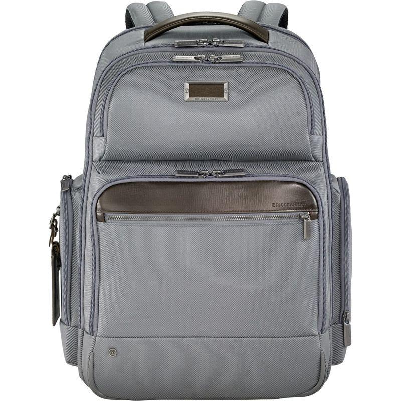 ブリグスアンドライリー メンズ スーツケース バッグ @work Large Cargo Laptop Backpack Grey