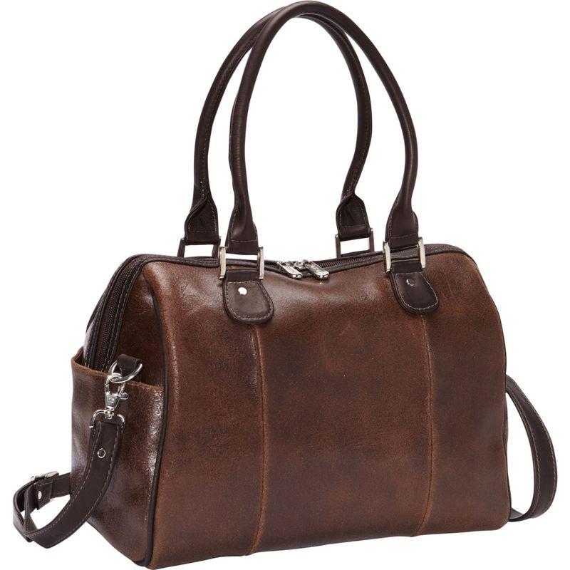 ピエール メンズ ハンドバッグ バッグ Vintage Leather Small Satchel Vintage Brown