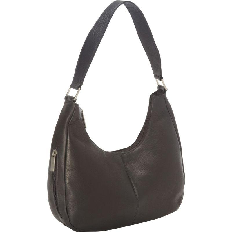 ロイスレザー メンズ ハンドバッグ バッグ Vaquetta Leather Hobo Bag Black