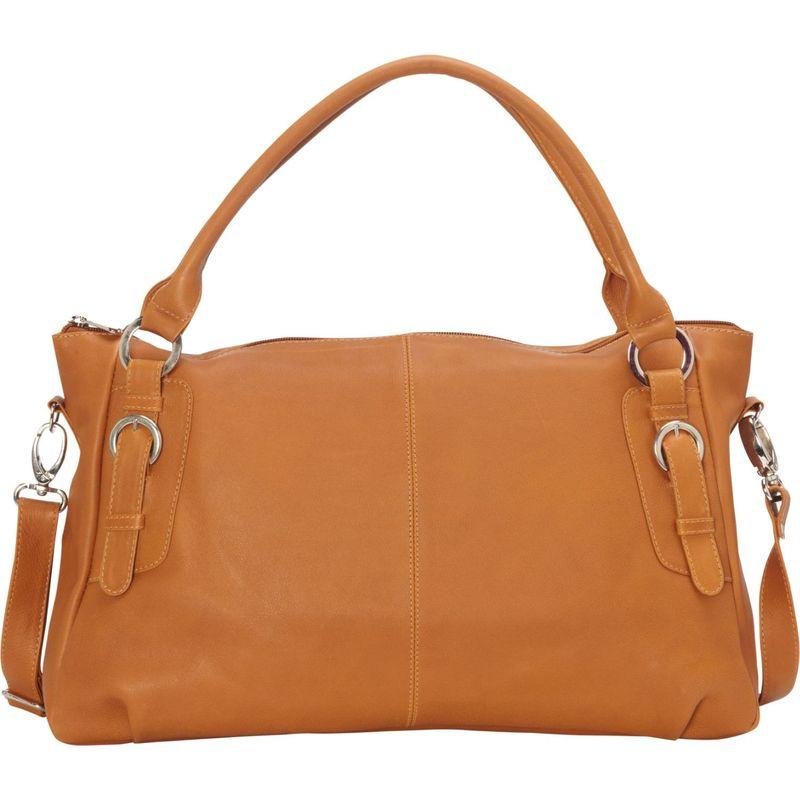 ピエール メンズ ハンドバッグ バッグ Large Convertible Satchel Handbag Honey
