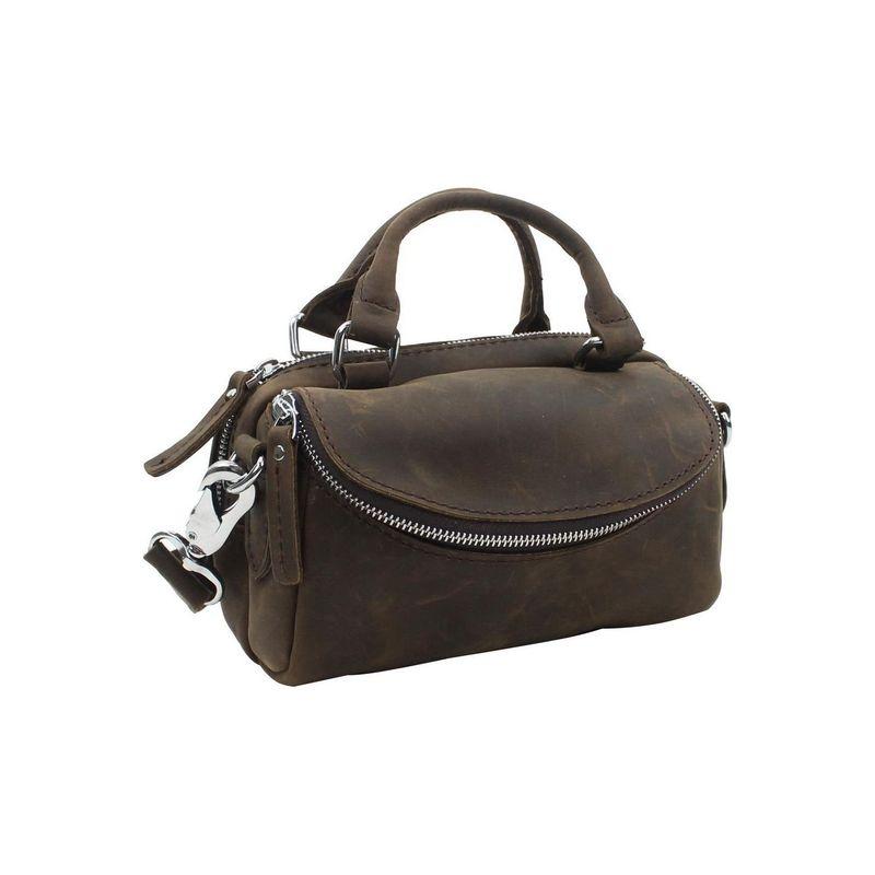 ヴァガボンドトラベラー メンズ ハンドバッグ バッグ 8.5 Leather Satchel Distress