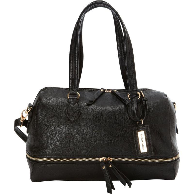 ハッシュパピー メンズ ハンドバッグ バッグ Shoulder Bag with Double Slider Pulls Black