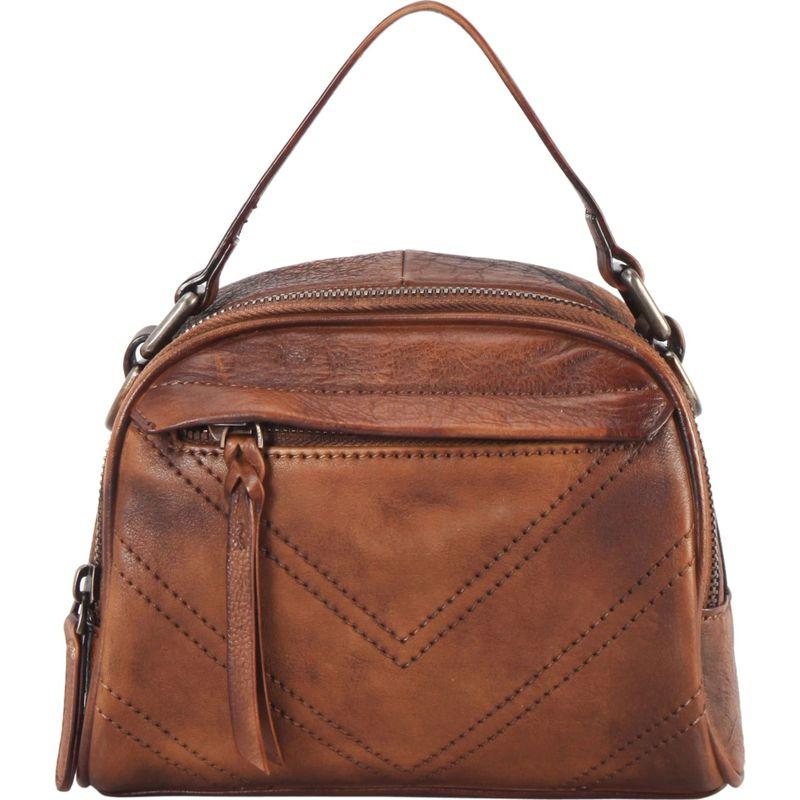 ディオフィ メンズ ハンドバッグ バッグ Half-Moon Doctor Style Shoulder Bag Brown
