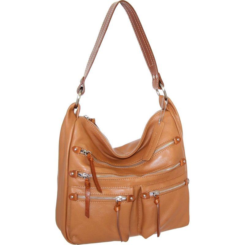 ニノボッシ メンズ ショルダーバッグ バッグ Elisa Shoulder Bag Cognac