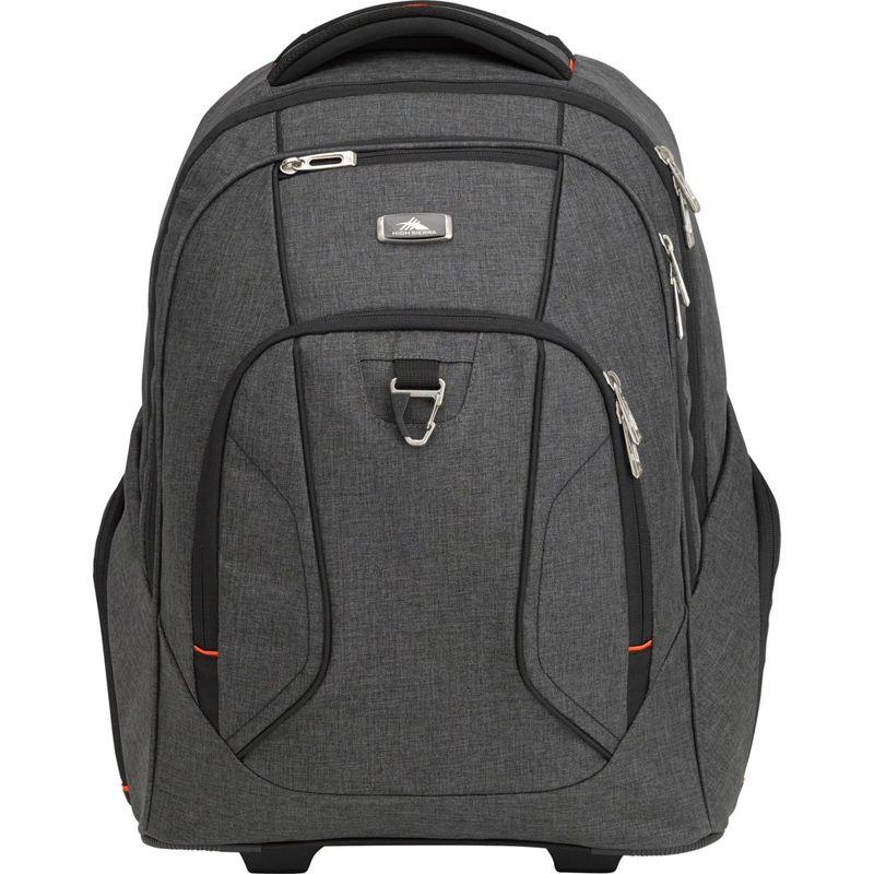 ハイシエラ メンズ スーツケース Endeavor バッグ Endeavor Wheeled スーツケース Wheeled Laptop Backpack Mercury/Heather, リサイクルエコトナーQubic:56285766 --- koreandrama.store