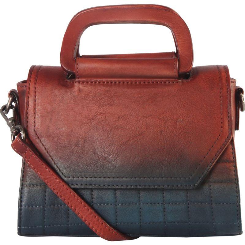 ディオフィ メンズ ハンドバッグ バッグ Quilted Medium Shoulder Bag Red/Blue