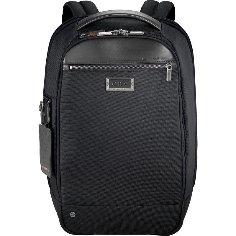 ブリグスアンドライリー メンズ スーツケース バッグ @work Medium Slim Laptop Backpack Black