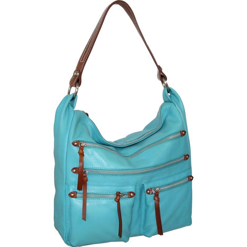 ニノボッシ メンズ ショルダーバッグ バッグ Elisa Shoulder Bag Turquoise