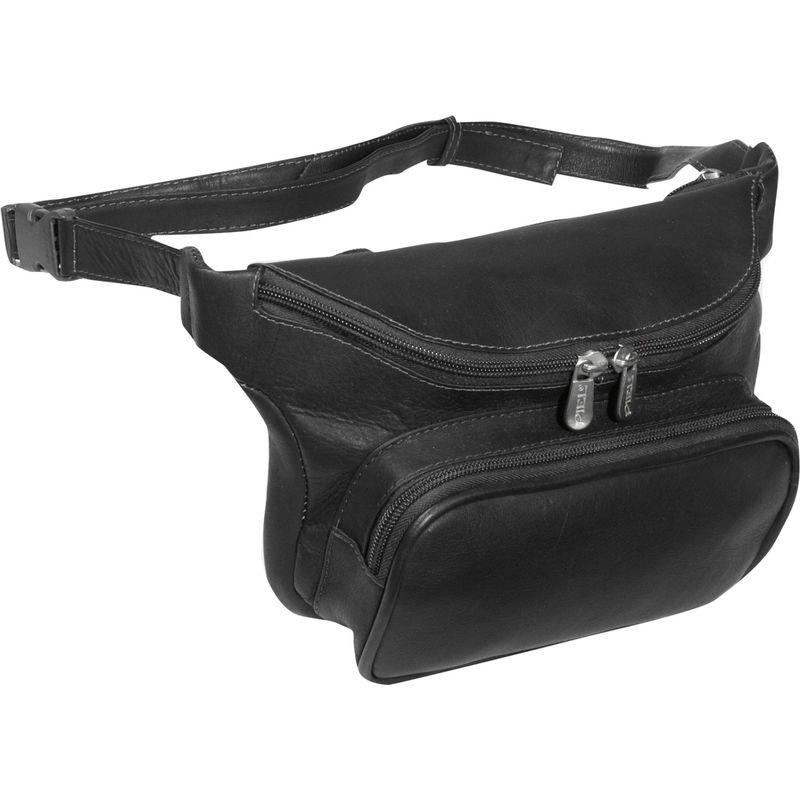 ピエール メンズ ボディバッグ・ウエストポーチ バッグ Large Classic Waist Bag Black