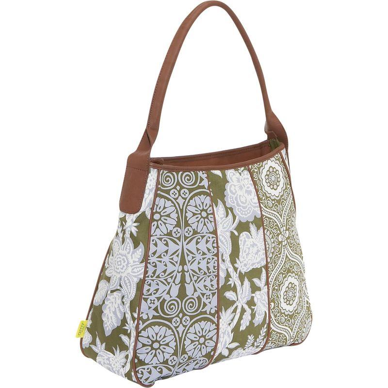 エミーバトラー メンズ ハンドバッグ バッグ Muriel Fashion Bag Tropicali Tea Leaf