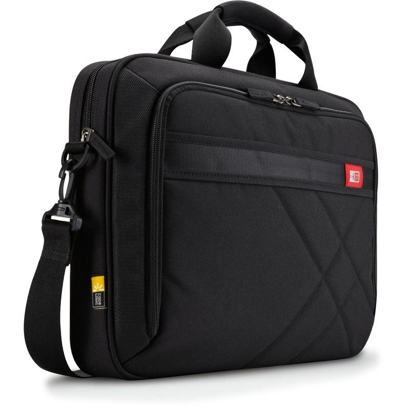 ケースロジック メンズ スーツケース バッグ 17.3 Laptop and Tablet Case Black