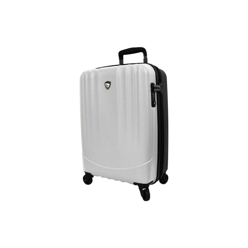 ミアトロ メンズ スーツケース バッグ Polipropilene Hardside 28 Spinner White