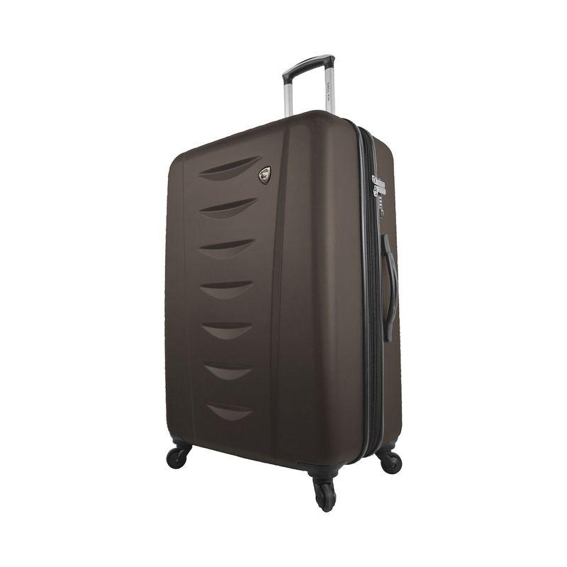 ミアトロ メンズ スーツケース バッグ Tasca Moderna 24 Hardside Spinner Brown