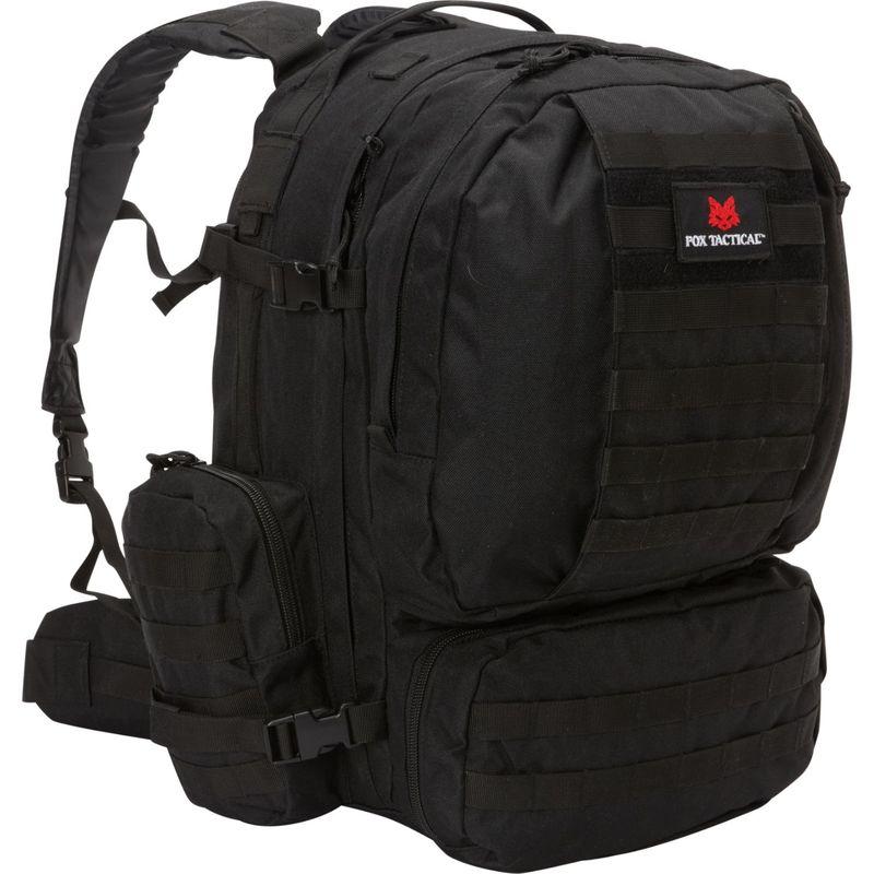 フォックスアウトドア メンズ ボストンバッグ バッグ Advanced 3-Day Pack Black